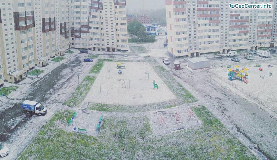 Непогода в Омской области, Россия