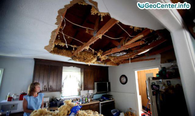 Мощный торнадо обрушился на Северную Каролину, США
