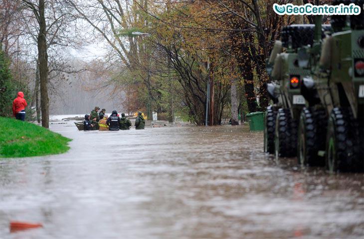 Наводнение в Канаде май 2017