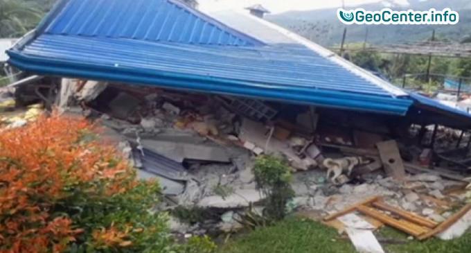 Землетрясение магнитудой 6.5 на Филиппинах