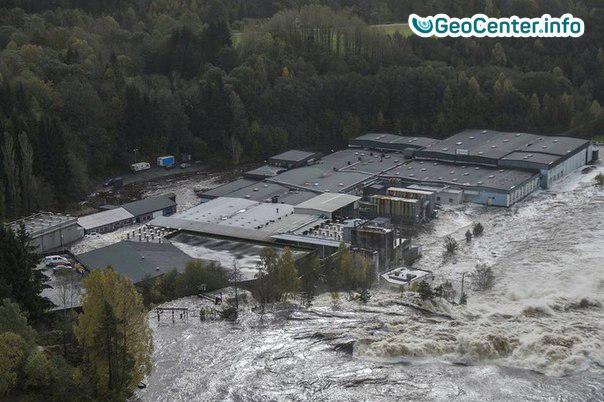 Наводнения в Норвегии, октябрь 2017 года