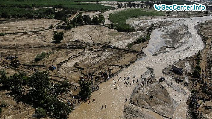 Наводнение в Китае, май 2017 года