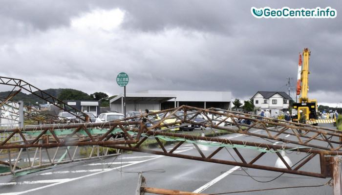 Тайфун Нанмадол  обрушился на Японию, июль 2017 года