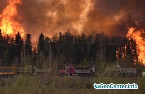 Эвакуация людей на Канарских островах из-за лесного пожара, Испания сентябрь