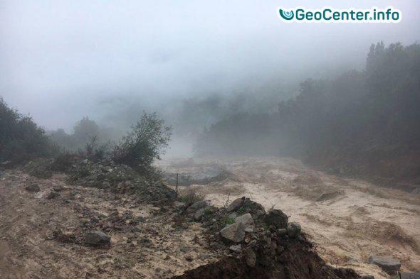 В районе Эльбруса сошел сель.