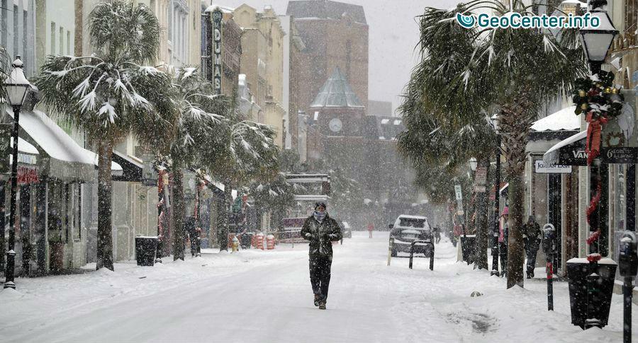 Погода в калифорнии в январе