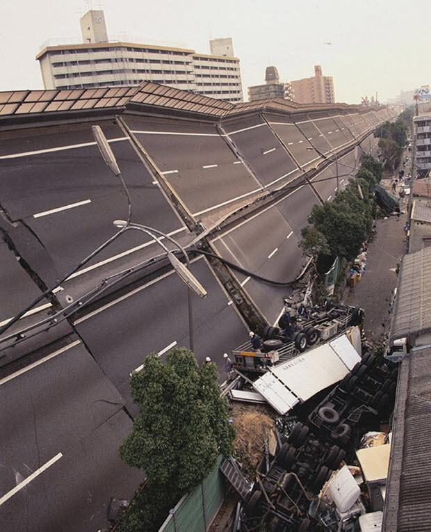 Катаклизмы Хансин, Япония