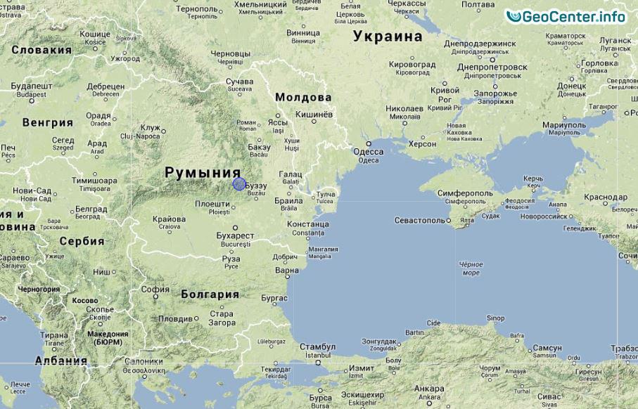 На юге Одесской области ощутили подземные толчки