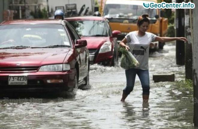 В ряде провинций Таиланда наводнение