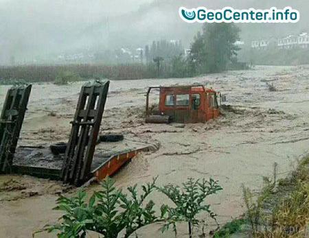 Наводнение в Китае, сентябрь 2017