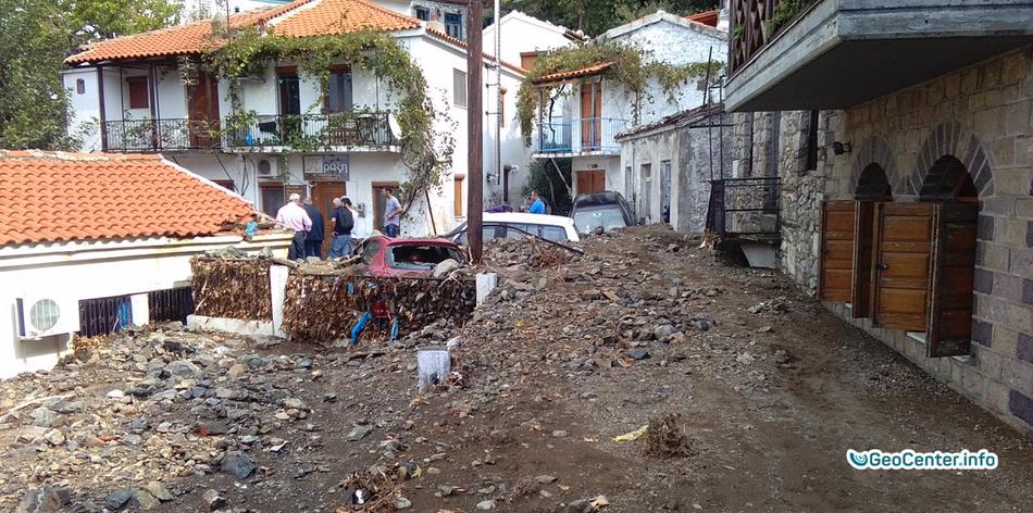 Шторм в Греции, сентябрь 2017 года