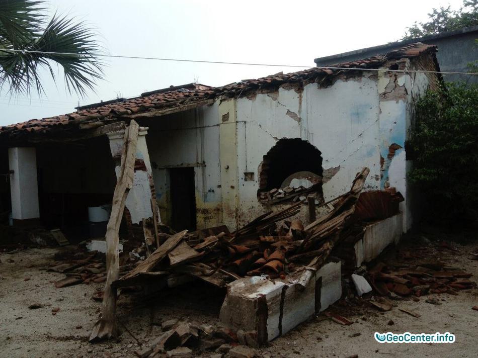 Последствия землетрясений  в Мексике, 23 сентября 2017