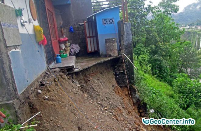 Ливни и оползни в Непале, июль 2017 года