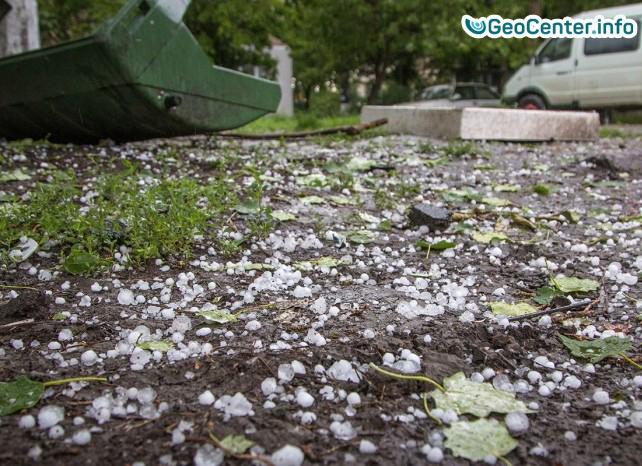 Майский ливень с градом в Одессе