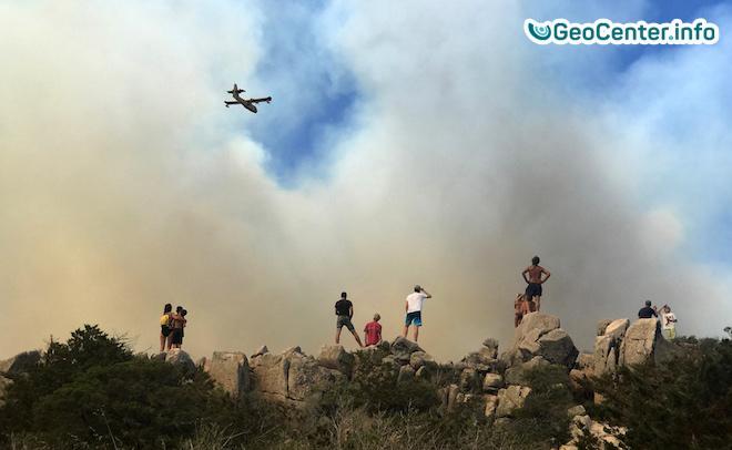 Пожары  на юго-востоке Франции, июль 2017 года