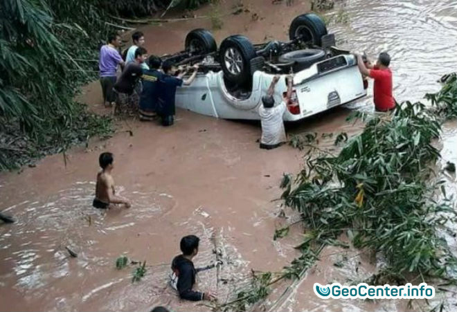 Наводнение в Таиланде, октябрь 2017