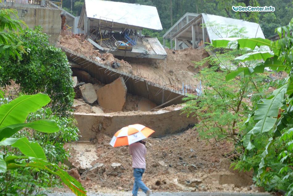 Наводнение  на острове Пхукет, Таиланд сентябрь 2017 года