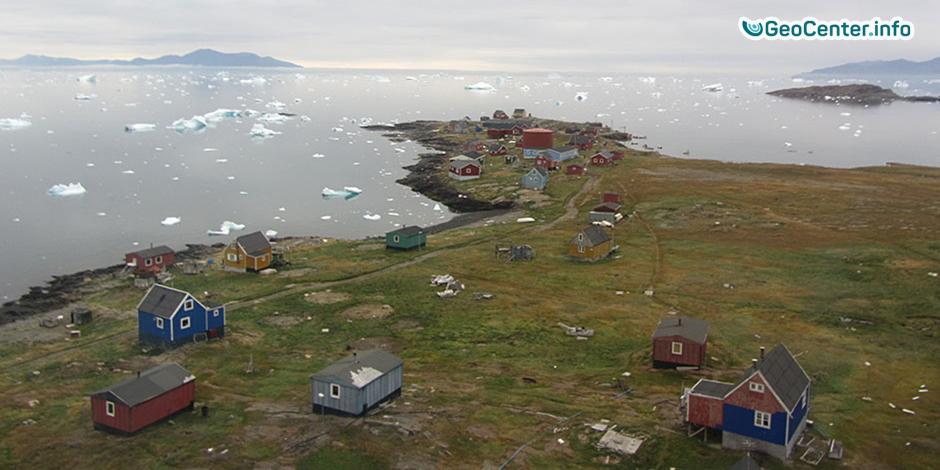 Землетрясение и цунами, а впоследствии и наводнение в Гренландии, июнь, 2017