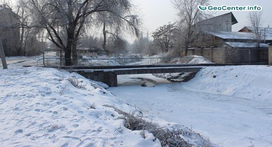 Морозы в Киргизии, январь 2018 г.