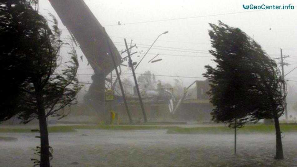 Сильный Ураган обрушился на Чечню 27.08-28.08.2010