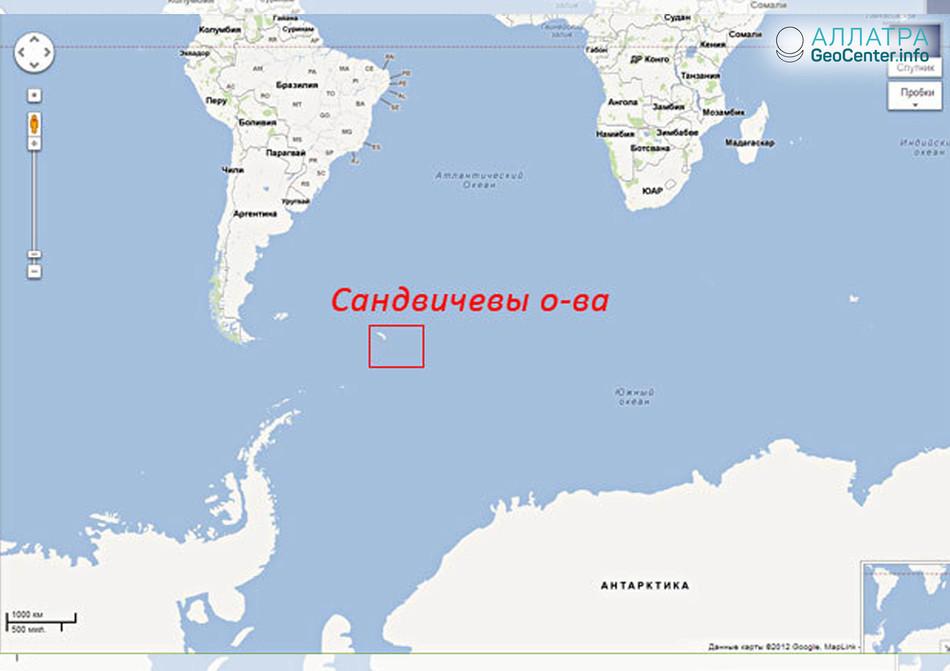 Землетрясение у Южных Сандвичевых островов, 14 мая 2018 года
