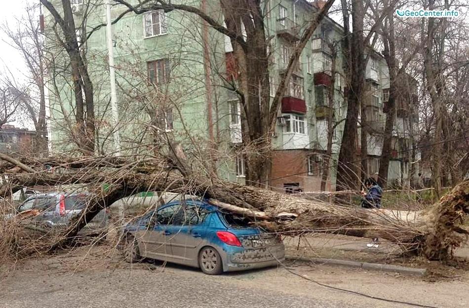 Ураганный ветер на Европейской территории России