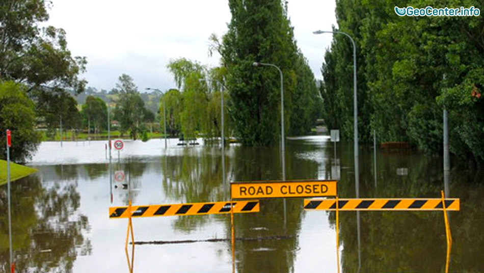 Наводнение в Австралии 25-26 сентября 2016