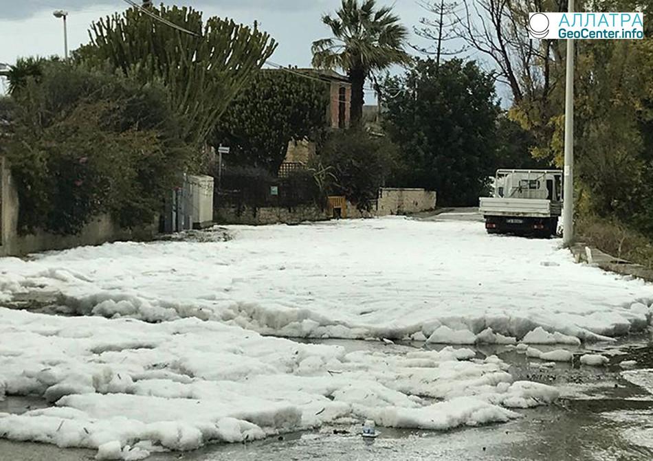 Штаты Среднего Запада и Юга США пострадали от торнадо, сильных дождей и наводнений, февраль 2018 года