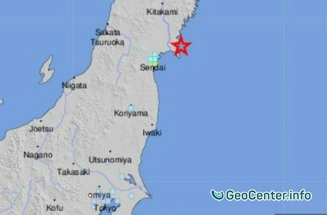 В Японии произошло землетрясение 6,2 балла