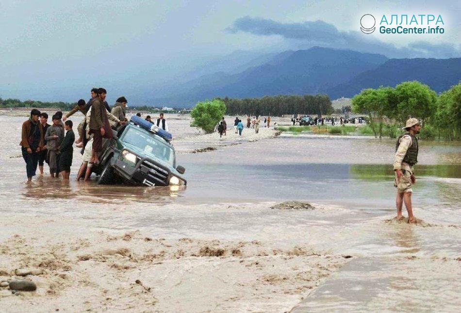 Наводнения в Афганистане, май 2018 г.