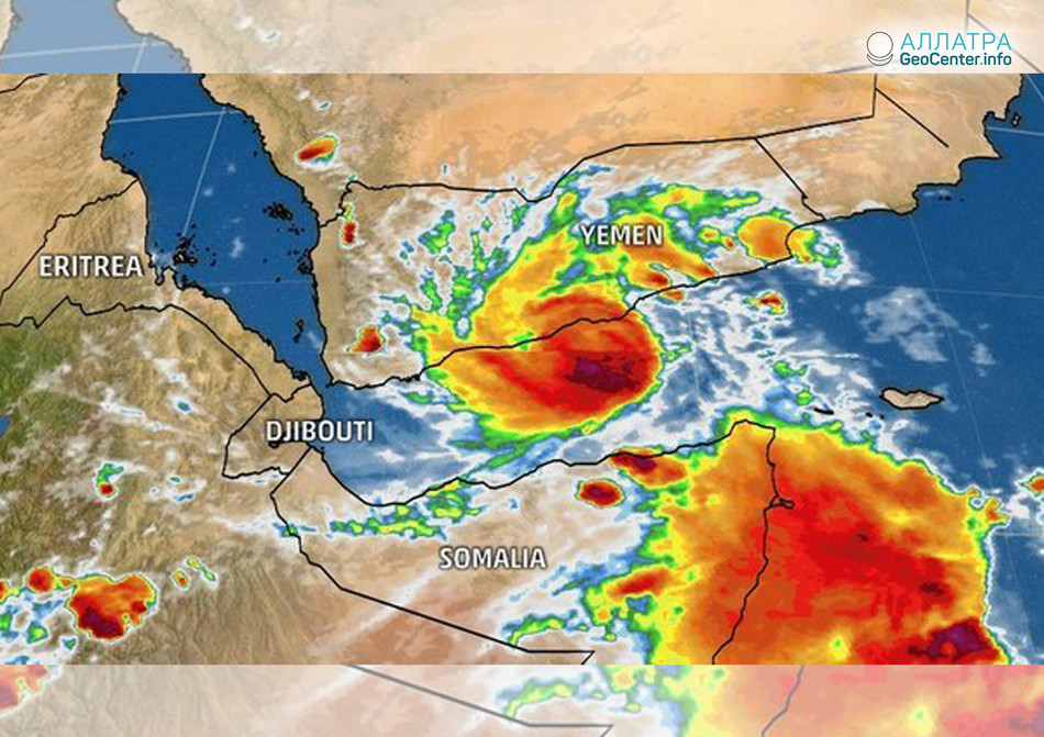 Тропический циклон «Сагар» в Сомали, май 2018