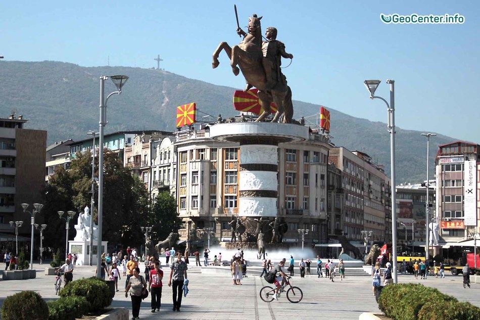 В Македонии произошло землетрясение магнитудой 5,3