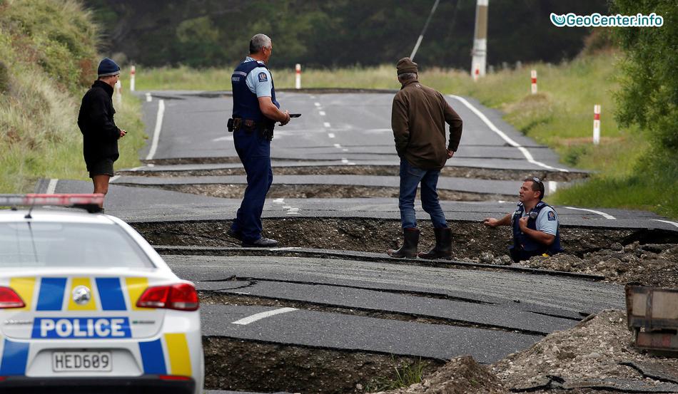 40 землетрясений за сутки в Новой Зеландии