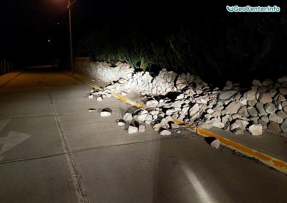 Землетрясение в Перу магнитудой 7,1, 14 января 2018 года