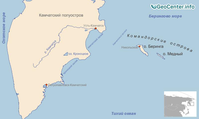 Сейсмическое событие на Командорских островах