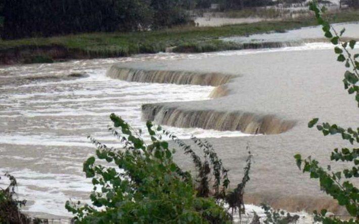 Внезапное наводнение в итальянском ущелье, август 2018 г.