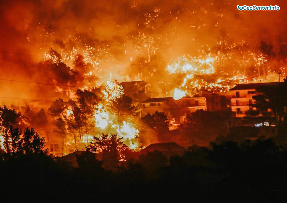 канале увидите картинки горящий город данных конденсаторов
