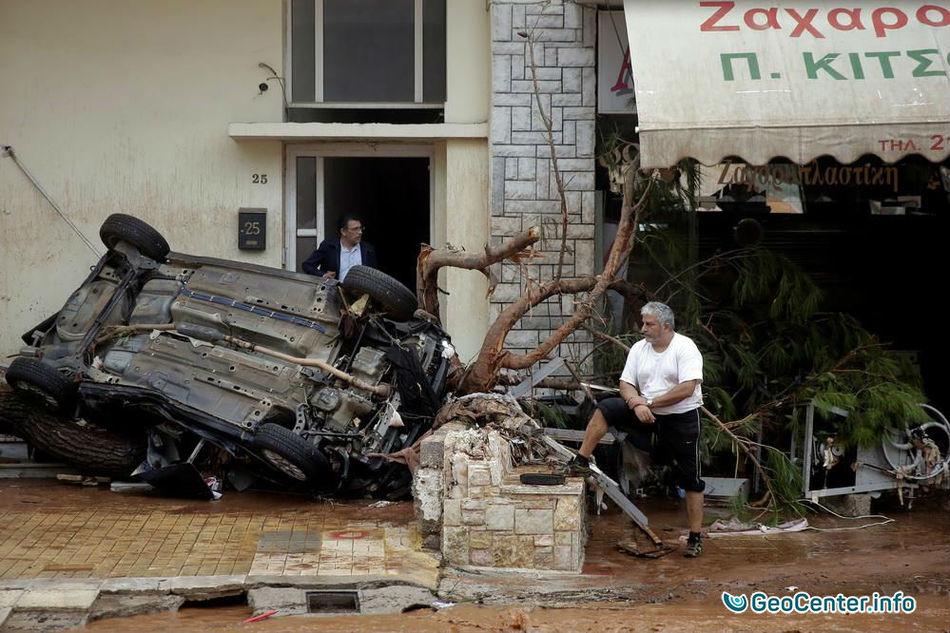Наводнения в Греции, ноябрь 2017