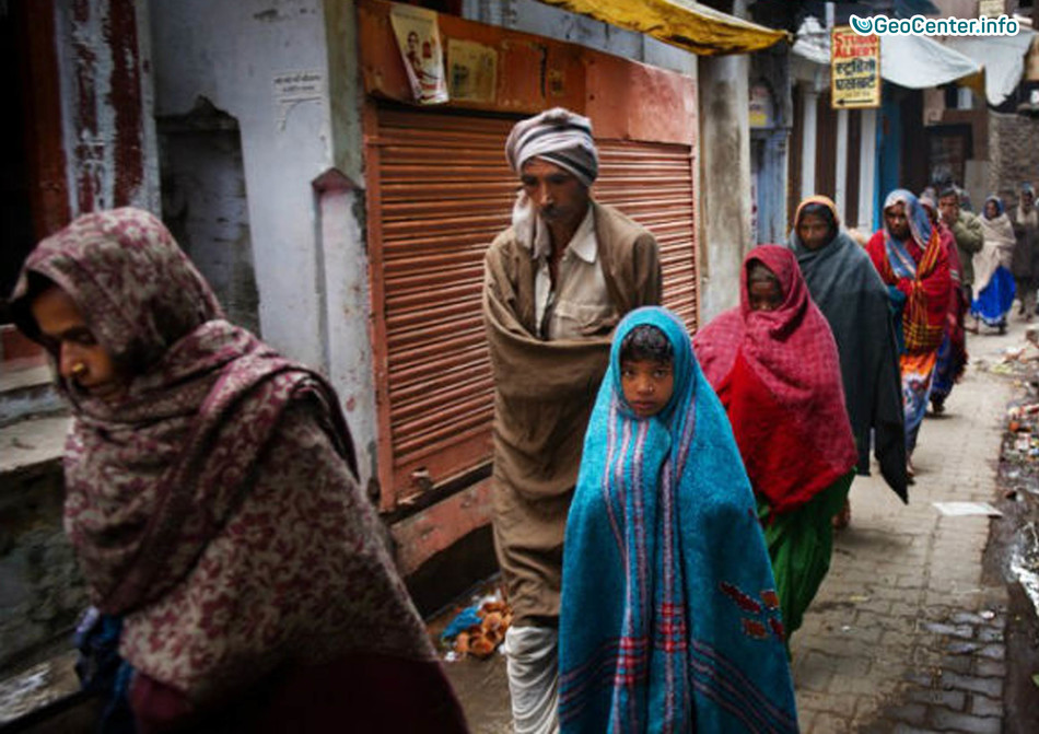 В Бангладеш пришли аномальные холода, январь 2018 г.