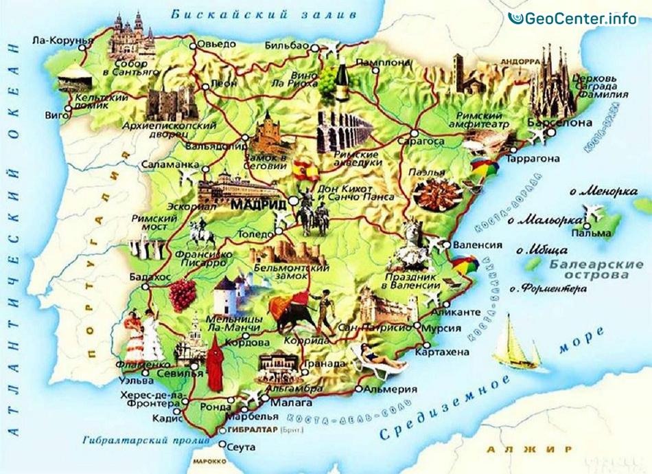 Летняя жара в Испании