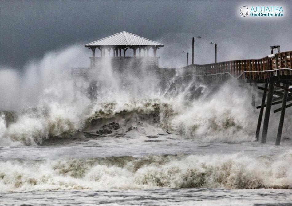 Ураган Флоренс в США, сентябрь 2018