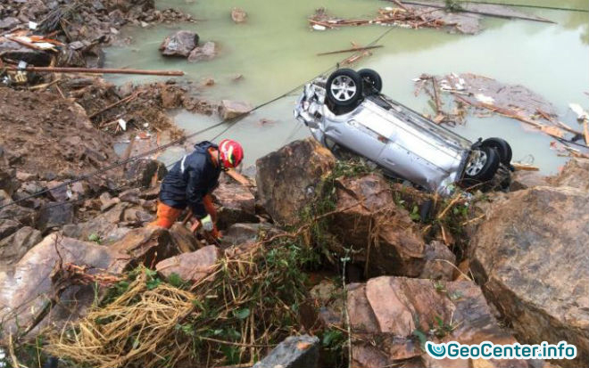 Последствия тайфуна  Меги в Китае сентябрь 2016 года