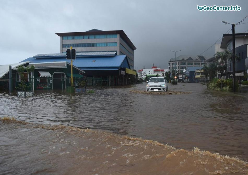 "Буйство циклона ""Гита"" на Самоа, февраль 2018 г."