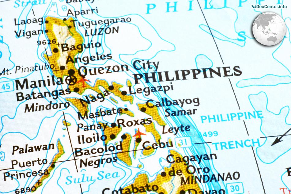 Сильнейшее за последние 140 лет землетрясение на Филиппинах