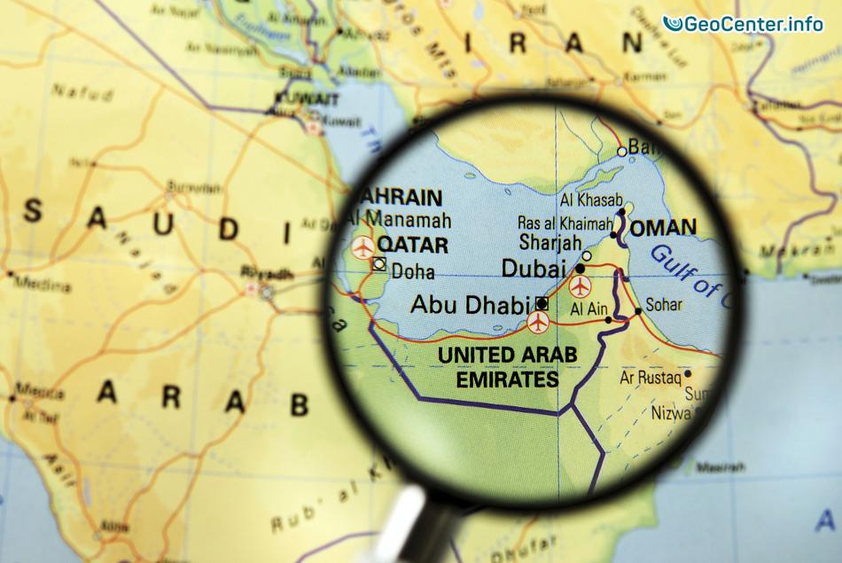 ОАЭ и Суадовскую Аравию замело снегом