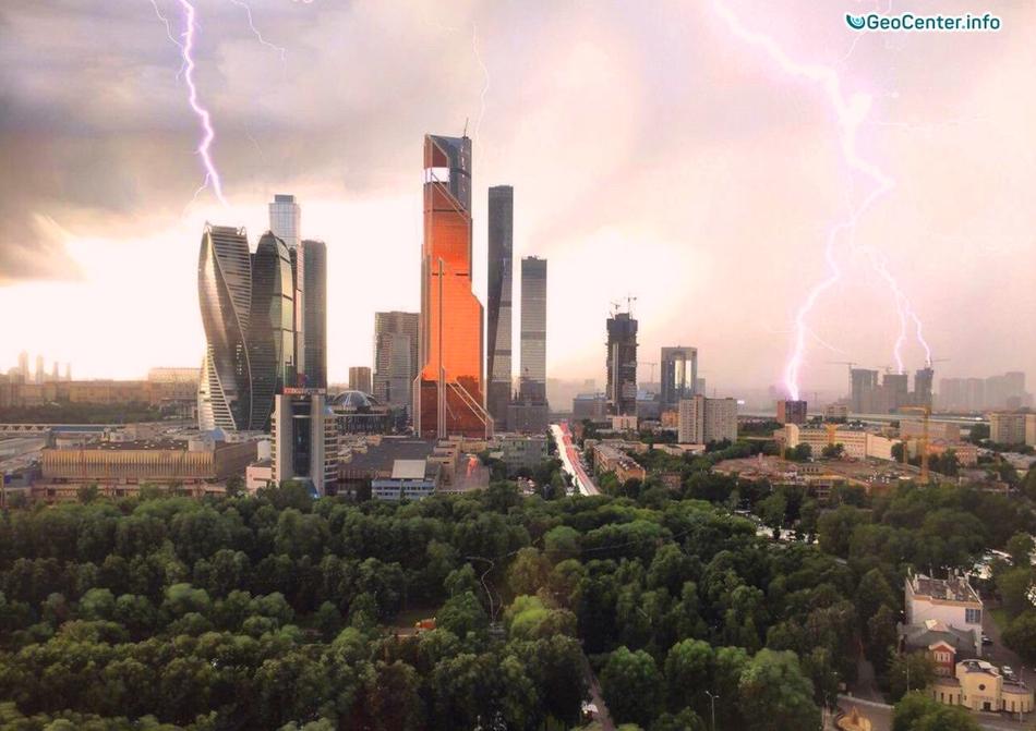 Ливни в Москве и в Подмосковье, 30 июня - 3 июля 2017 года