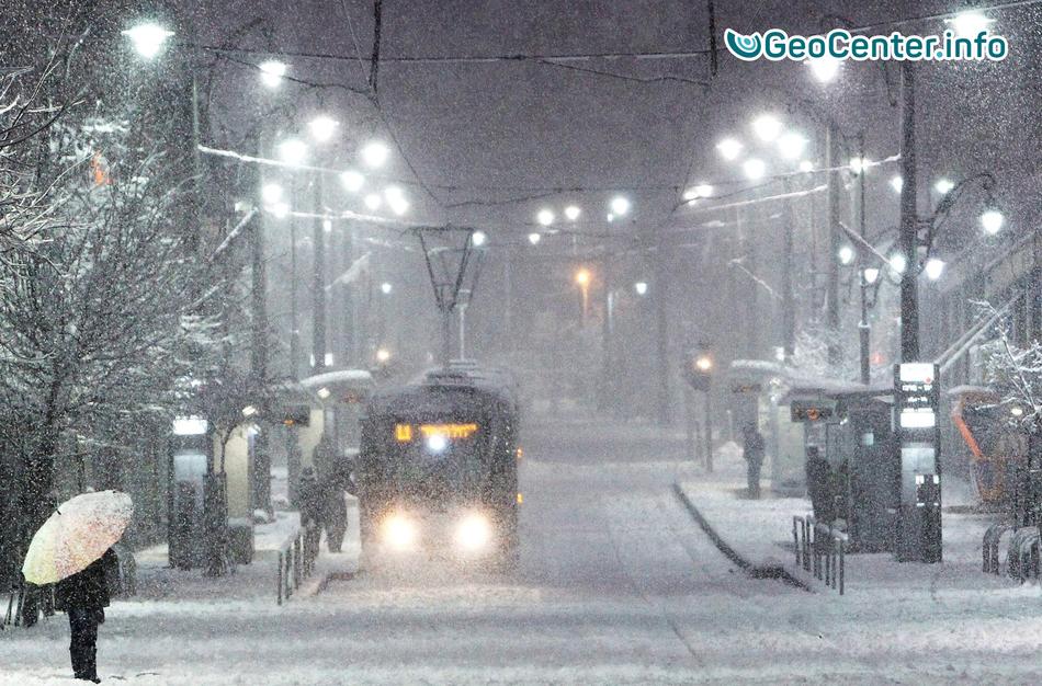 В Витебске побит рекорд 70-летней давности по высоте снежного покрова