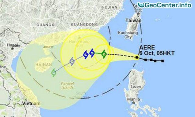 Тропический шторм Aere достиг Вьетнама