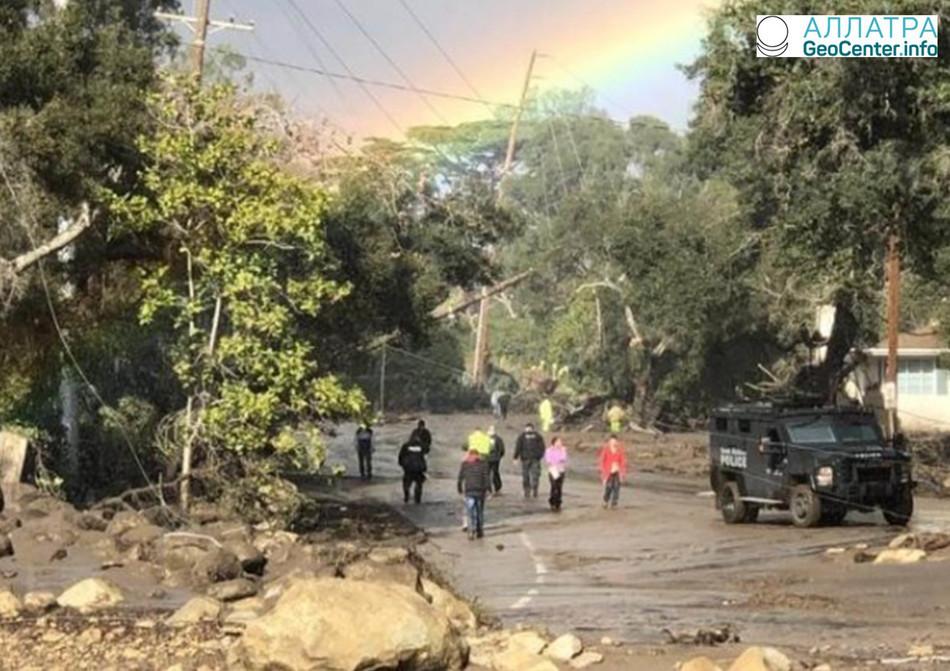 Калифорния готовится к наводнениям, март 2018 г.