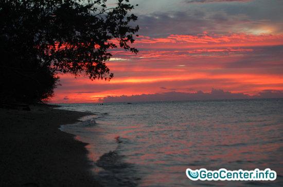 Землетрясение магнитудой 6,4 у берегов Фиджи,  август 2017